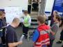 Planspielübung mit der Feuerwehr St. Ingbert