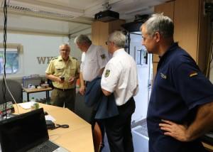 THW-Präsident Albrecht Broemme zu Besuch in der Führungsstelle! Vielen Dank an Christian Mertens für die Bereitstellung der Bilder!