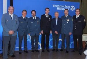 v.l.n.r.: Norbert Bentz, Reiner Schaadt, Gunnar Klein, Timo Meyer, Jürgen Rischar, Werner Vogt, Steffen Rastetter